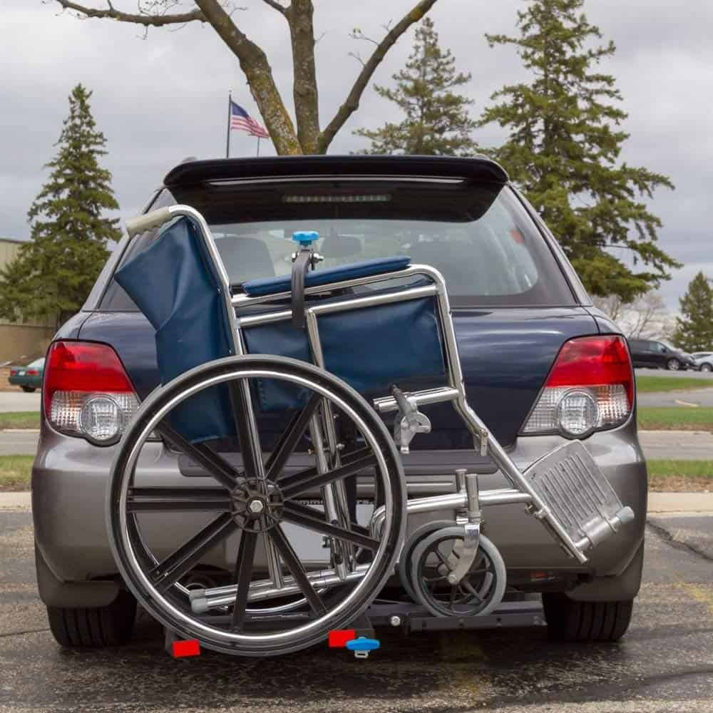 Wheelchair Carrier For The Back Of A Vehicle