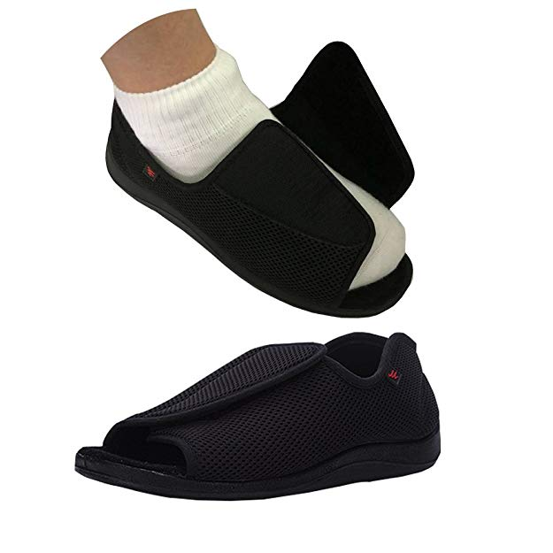 664ec8abcb10 Most Comfortable Lightweight Velcro Shoes for Elderly People.